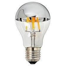 E27 6,5w 2700K A60 Led Filamento Topo Espelhado PRTGAV4 (220v)