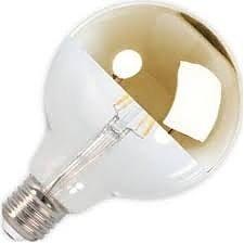E27 4w 2700K G95 Led Filamento Topo Dourado Dimável PRTWW3 (220v)
