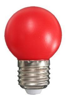 E27 4w G45 Led Vermelha (220v)